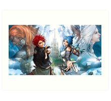Lufia Magic Art Print