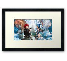 Lufia Magic Framed Print