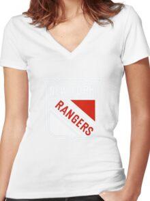 The New York Rangers Women's Fitted V-Neck T-Shirt