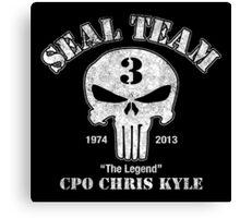 American Legend - US Sniper Chris Kyle  Canvas Print