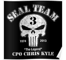 American Legend - US Sniper Chris Kyle  Poster