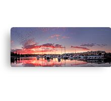 Raby Bay Harbour - Cleveland  Qld Australia Canvas Print