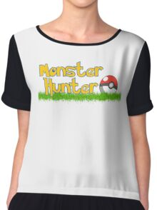 Monster Hunter Chiffon Top
