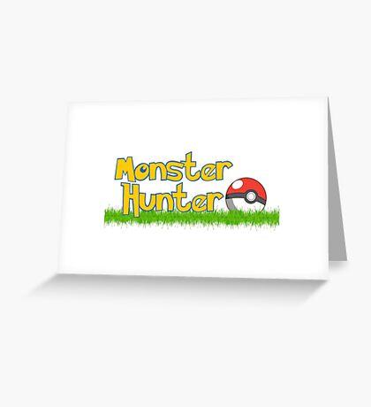 Monster Hunter Greeting Card
