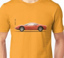 The 1970 Dino 246 GT Unisex T-Shirt