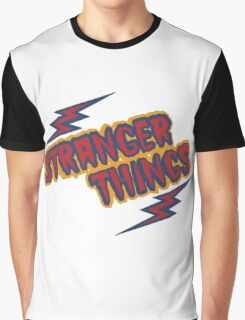 Stranger Things Retro Graphic T-Shirt