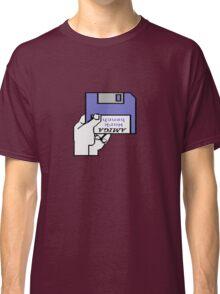 Insert Workbench disk Classic T-Shirt
