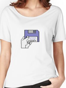 Insert Workbench disk Women's Relaxed Fit T-Shirt