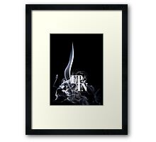 UP IN SMOKE Framed Print