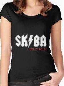 Matt Skiba Hell's Balls (Black) T-Shirt Women's Fitted Scoop T-Shirt