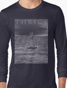 Digital Sea Long Sleeve T-Shirt