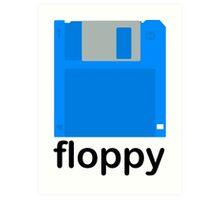 Floppy Art Print