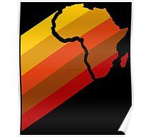 AFRICA RETRO Poster