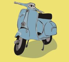 Vespas are so hot right now! by Leanne Churchill