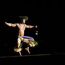 Hawaiian Hula Dancer by Leanne Kelly