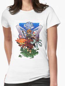 Terranigma Art Womens Fitted T-Shirt