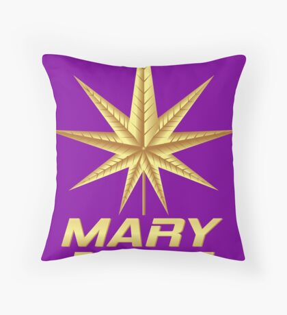 MARY JANE GOLD Throw Pillow