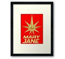 MARY JANE GOLD Framed Print