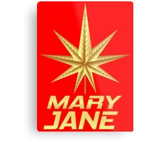 MARY JANE GOLD Metal Print