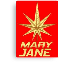 MARY JANE GOLD Canvas Print
