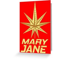 MARY JANE GOLD Greeting Card