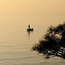 Fishing in the mist. Japan. by johnrf