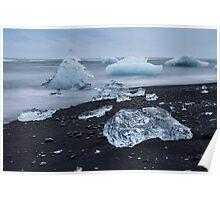 Jokulsarlon glacier lagoon,iceland Poster