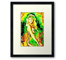 'Psychedelic' Framed Print
