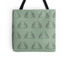 Double Greyhounds - Heritage Sage Tote Bag
