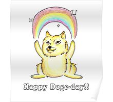 Happy Doge Day! Poster