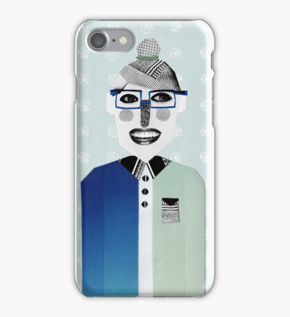 Happy geek girl iPhone Case/Skin