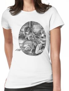 Forgotten Creation Womens Fitted T-Shirt