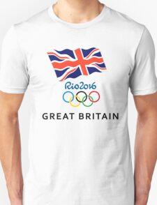 Great britain Olimpiade OLYMPICS rio 2016 Unisex T-Shirt