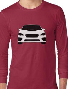 2015+ Subaru WRX Sticker / Tee - Full Front Design Long Sleeve T-Shirt