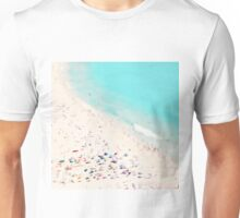 beach love square Unisex T-Shirt
