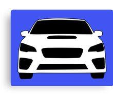 2015+ Subaru WRX Sticker / Tee - Full Front Design Canvas Print
