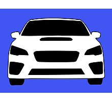 2015+ Subaru WRX Sticker / Tee - Full Front Design Photographic Print