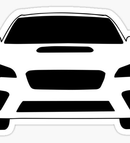 2015+ Subaru WRX Sticker / Tee - Full Front Design Sticker