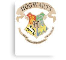 Harry Potter Houses Canvas Print