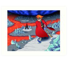 Terranigma Game Art Print