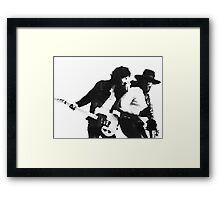 Bruce and Clarence 4 Framed Print