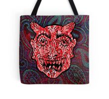 'Handsome Devil Mask #3' Tote Bag