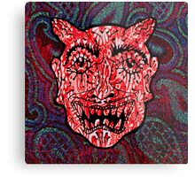 'Handsome Devil Mask #3' Metal Print