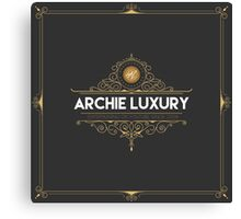 ArchieLuxury Royal & Class Canvas Print