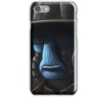 Cad Bane digital painting iPhone Case/Skin