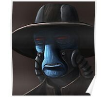 Cad Bane digital painting Poster