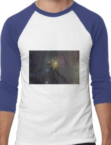 The Star Clouds of Rho Ophiuchi Men's Baseball ¾ T-Shirt
