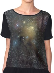 The Star Clouds of Rho Ophiuchi Chiffon Top