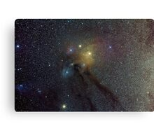 The Star Clouds of Rho Ophiuchi Canvas Print