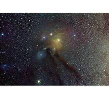 The Star Clouds of Rho Ophiuchi Photographic Print